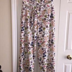 NWT Eloquii, Floral Pants!